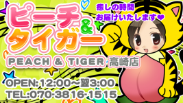 ピーチ&タイガー 高崎店
